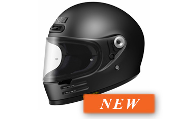 SHOEI GLAMSTER BLACK HELMET