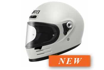 SHOEI GLAMSTER OFF WHITE HELMET