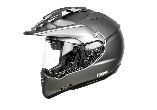 SHOEI HORNET-ADV MATT DEEP GREY HELMET