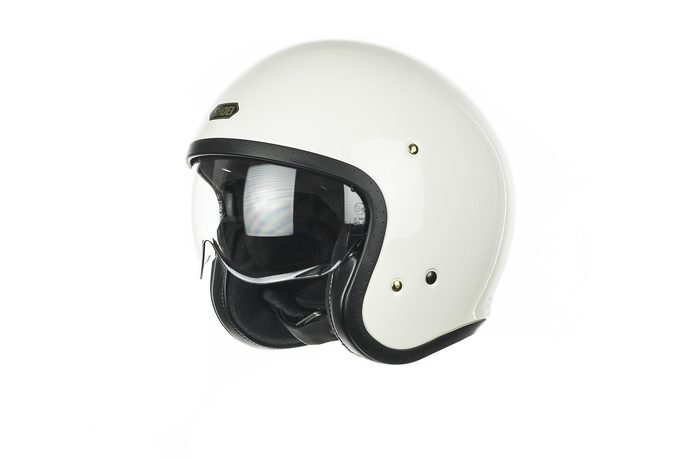 SHOEI J.O OFF WHITE HELMET
