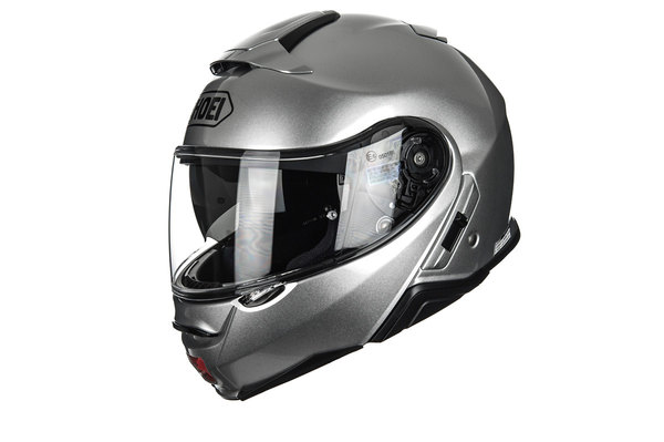 SHOEI NEOTEC-II LIGHT SILVER HELMET