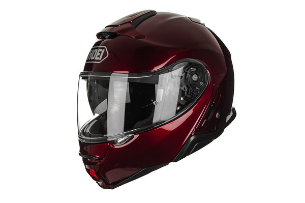 SHOEI NEOTEC-II WINE RED HELMET
