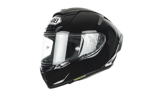 SHOEI X-SPIRIT-III BLACK HELMET