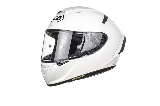 SHOEI X-SPIRIT-III WHITE HELMET