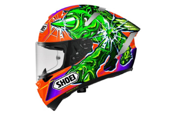 SHOEI X-SPIRIT-III POWER RUSH TC-8 HELMET