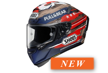 SHOEI X-SPIRIT-III MARQUEZ AMERICA TC-2 LTD HELMET
