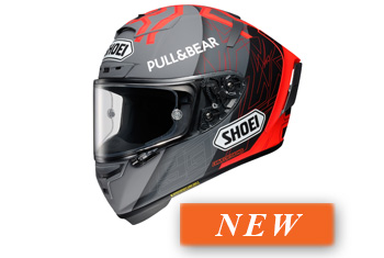 SHOEI X-SPIRIT-III MM93 Black Concept 2.0 TC-1 HELMET